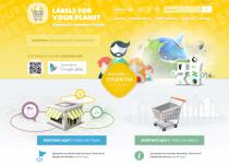Home de la web de Labels for your Planet.