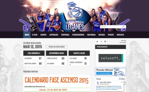 New Leganés Basketball Club website.