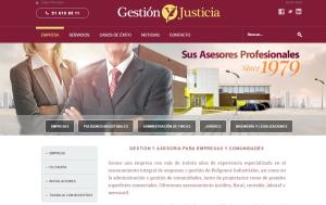 Gestión y Justicia launches its new website